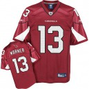 Youth Reebok Arizona Cardinals &13 Kurt Warner Red Team Color Replica Throwback NFL Jersey
