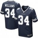 Men Nike Dallas Cowboys &34 Ryan Williams Elite Navy Blue Team Color NFL Jersey
