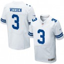 Men Nike Dallas Cowboys &3 Brandon Weeden Elite White NFL Jersey