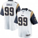 Youth Nike St. Louis Rams &99 Aaron Donald Elite White NFL Jersey