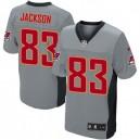 Men Nike Tampa Bay Buccaneers &83 Vincent Jackson Elite Grey Shadow NFL Jersey