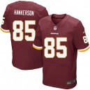 Men Nike Washington Redskins &85 Leonard Hankerson Elite Burgundy Red Team Color NFL Jersey