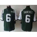 New York Jets 6 Mark Sanchez Limited Team Color Jersey