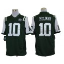 New York Jets 10& Santonio Holmes Limited Green Jersey
