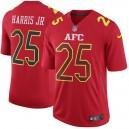 AFC Chris Harris Jr Nike rouge 2017 Pro Bowl jeu Maillot masculine