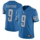 Maillot de joueur masculin Detroit Lions Matthew Stafford Nike bleu 2017 Vapor intouchable Limited