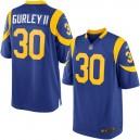 Hommes Los Angeles Rams Todd Gurley Nike Royal Jeu maillots