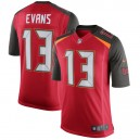 Hommes Tampa Bay Buccaneers Mike Evans Nike Rouge Vitesse machine Limitée Joueur maillot