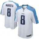 Hommes Tennessee Titans Marcus Mariota Nike maillot de jeu blanc