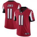 Hommes Atlanta Falcons Julio Jones Nike Rouge Vapeur intouchable maillot Limitée Joueur
