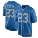 Hommes Detroit Lions Darius tuer Nike Bleu retour maillot de jeu