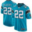 Hommes Carolina Panthers Christian McCaffrey Nike Bleu Jeu maillots