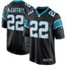Hommes Carolina Panthers Christian McCaffrey Nike Noir Jeu maillots