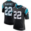 Hommes Carolina Panthers Christian McCaffrey Nike Noir Classique maillots Limited
