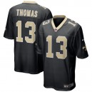 Hommes New Orleans Saints Michael Thomas Nike Noir Team jeu de couleur maillots