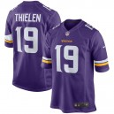Hommes Minnesota Vikings Adam Thielen Nike Violet Jeu maillots