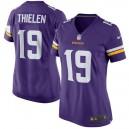 Femmes Minnesota Vikings Adam Thielen Nike Violet Jeu maillots
