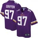Hommes Minnesota Vikings Everson Griffen NFL Pour ligne Violet Grand & Grand Joueur maillot