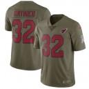 Hommes de l'Arizona Cardinals tyrannie Mathieu Nike olive Salute to Service Limitée maillots