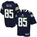 NFL Pro ligne hommes Los Angeles Chargers Antonio Gates maillot de couleur de l'équipe