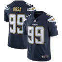 Hommes Los Angeles chargeurs Joey Bosa Nike Navy Vapor intouchable Limited Player maillot