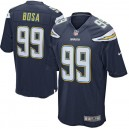 Hommes Los Angeles Chargers Joey Bosa Nike Navy maillot de jeu