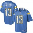 Pro Line Mens Los Angeles Chargers Keenan Allen maillot alternatif