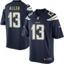 Hommes Los Angeles chargeurs Keenan Allen Nike Navy Blue Team Color Limited Maillot