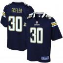 Hommes Los Angeles Chargers Austin Ekeler NFL Pour Ligne joueur de la marine maillot