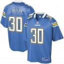 Hommes Los Angeles Chargers Austin Ekeler NFL Pour Ligne poudre bleu joueur suppléant maillot