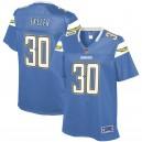 Femmes Los Angeles Chargers Austin Ekeler NFL Pour Ligne poudre bleu joueur suppléant maillot
