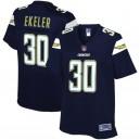 Femmes Los Angeles Chargers Austin Ekeler NFL Pour Ligne joueur de la marine maillot