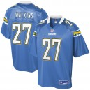 Hommes Los Angeles Chargers estelle Watkins NFL Pour Ligne poudre bleu joueur suppléant maillot