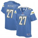 Femmes Los Angeles Chargers estelle Watkins NFL Pour Ligne poudre bleu joueur suppléant maillot