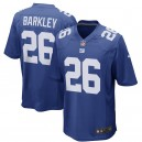 Hommes New York Giants Saquon Barkley Nike Royal 2018 NFL Draft premier tour Choisir Jeu maillots