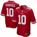 Hommes de San Francisco 49ers Jimmy Garoppolo Nike Scarlet maillots de jeu