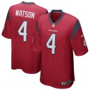 Hommes Houston Texans DeShaun Watson Nike Rouge Jeu maillots