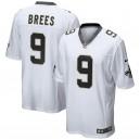 Hommes New Orleans Saints Drew Brees Nike jeu blanc maillot