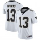 Hommes New Orleans Saints Michael Thomas Nike White Vapor intouchable maillot Limited Player