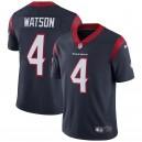 Maillots de Houston Texans Deshaun Watson Nike marine Vapor intouchable Limited pour hommes