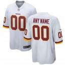 Washington Redskins chaussures homme Nike personnalisé jeu maillot blanc