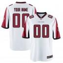 Atlanta Falcons Nike masculine maillot Blanc de jeu personnalisé