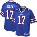 Buffalo masculine Bills Josh Allen NFL Pro ligne joueur Royal Maillot