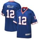 Buffalo Bills Jim Kelly NFL Pro ligne Royal masculine retraité maillot de joueur d'équipe