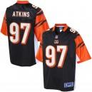 Cincinnati Bengals Geno Atkins ligne pro masculine couleur maillot de Team