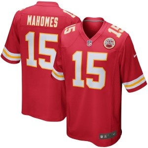 Hommes Kansas City chefs Patrick Mahomes NFL Pro Line Rouge Player maillots