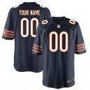 Hommes de Chicago ours Nike Navy Custom maillots de jeu