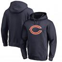 Les hommes de Chicago Bears NFL Pro Line par Fanatics marque Navy capuche logo primaire
