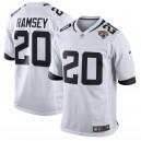 Hommes Jacksonville jaguars Jalen Ramsey Nike blanc nouveau 2018 maillot de jeu