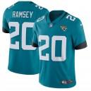 Hommes Jacksonville jaguars Jalen Ramsey Nike Teal nouveau 2018 vapeur intouchable Limited Maillot